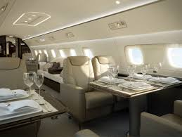 ever wonder what goes inside a 53 million private jet private