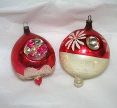 103 best glass ornaments images on vintage