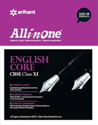 all in one english core cbse class 11th 2017 18 buy all in one