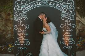 wedding backdrop chalkboard italian collina wedding with chalk shop chalk shop events