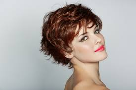 short hairstyles for curly thick frizzy hair hairs picture gallery