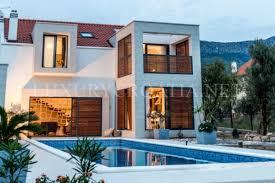 wonderful vacation house with a pool kastela luxury croatia