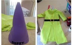 Dopey Dwarf Halloween Costume Creative Broad Halloween Sewing Dopey