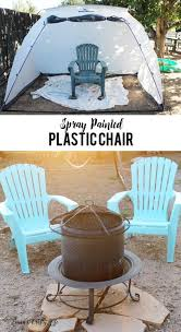 Patio Plastic Chairs by Spray Paint Plastic Chairs Laura U0027s Crafty Life