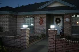 Bright Solar Landscape Lights Premium Solar Fence Pillar Light Yardbright Landscape Lighting