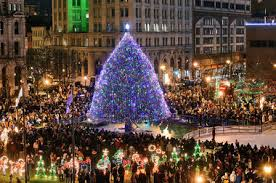 syracuse christmas begins with clinton square tree lighting