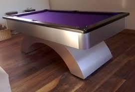 purple felt pool table contemporary pool tables