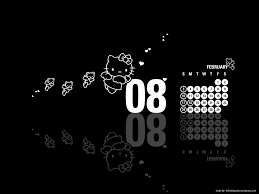 Cute Black And White Wallpapers by Black Hello Kitty Wallpaper Wallpapersafari