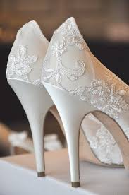 wedding shoes singapore ivory wedding farfalla 110mm heel in ivory tulle lace 2175275