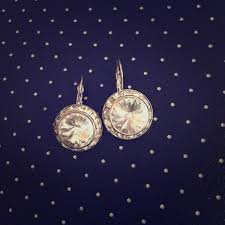 big diamond earrings 73 jewelry silver big chunky diamond earrings from distressed