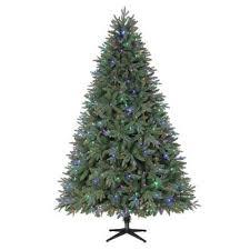 home depot martha stewart tree black friday home accents holiday 7 5 ft harrison fir quick set artificial