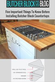 how to install butcher block countertops installing butcherblock the 5 important things to know before