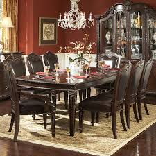 dining room a contemporary white 9 piece dining room sets with