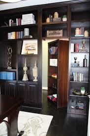 open office or built in study cabinets and bookshelves with 2