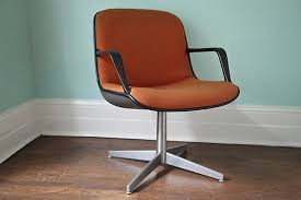 mid century modern desk chair without wheels mid century modern