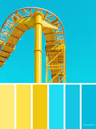 yellow color schemes blue and yellow color scheme fabmood wedding colors wedding