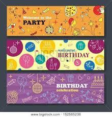 happy birthday card confetti cute vector u0026 photo bigstock