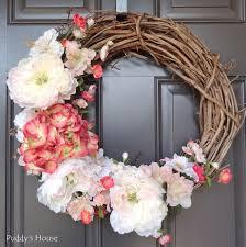 wreath ideas thrilling wreath for front door diy wreaths ideas for