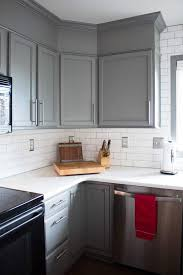 how to paint cabinets grey how to easily paint kitchen cabinets you will