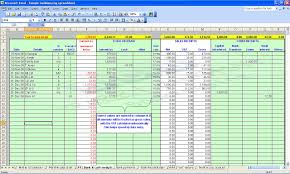 Quickbooks Chart Of Accounts Excel Template Bookkeeping Spreadsheets For Excel Laobingkaisuo Com