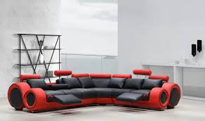 Fabric Sectional Sofa With Recliner by Sofas Tan Sectional With Chaise Red Sectional Sofa Red Sofa