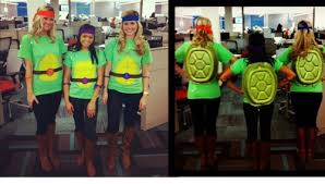Ninja Turtle Halloween Costume Girls 20 Trio Halloween Costumes Ideas Groups