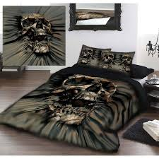 Black Comforter King Size Black Hearts And Skull Bedding King Size Skull Bedding King Size