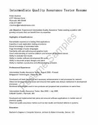 Computer Software Engineer Resume Qa Engineer Resume Sample Resume123