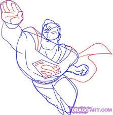 draw superman step step dc comics comics free