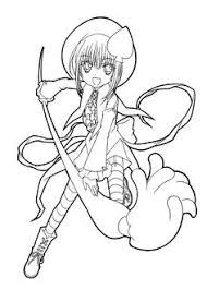 sakura manga coloring pages kids printable free coloring