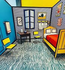 vincent van gogh bedroom step inside roy lichtenstein s reimagination of vincent van gogh s