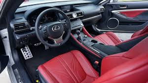 lexus sport car interior 2015 lexus rc f and rc 350 f sport first drive and impressions