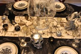 halloween tableware inspiration in stages halloween tablescape reveal