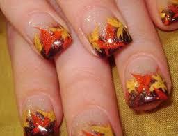 25 nail designs for thanksgiving nails pix