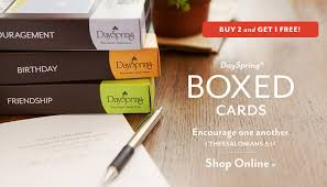 dayspring buy 2 get 1 free boxed cards of free