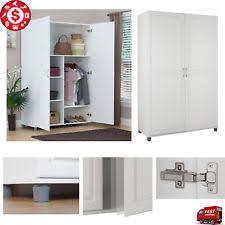 Lakeside Tall Storage Cabinet Hallway Storage Cabinets Ebay