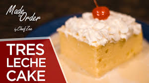 tres leche cake holiday desserts made to order chef zee