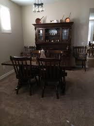 refinishing dining room furniture rest of the home is oak mission
