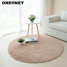 tapis rond chambre oneoney anti slip 80x80 cm salon tapis table basse chambre tapis