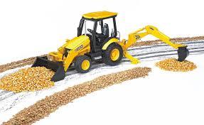 bruder excavator amazon com bruder jcb midi cx loader backhoe toys u0026 games