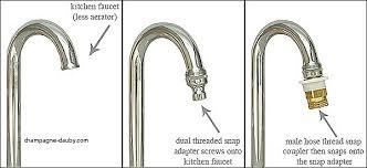 kitchen faucet to garden hose adapter attach garden hose to kitchen faucet kitchen ideas