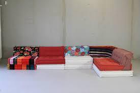 mah jong canapé livingroom roche bobois sofa large seat by used mah