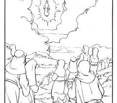 coloring page of jesus ascension pictures into coloring pages mesmerizing jesus ascension coloring