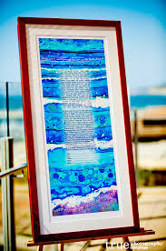 photographing the jewish wedding ketubah marriage contract