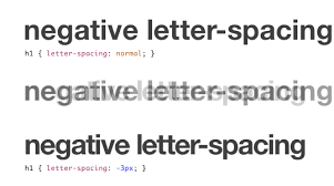 tracking u2014 css letter spacing and where to use it u2014 sitepoint