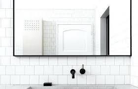 black framed bathroom mirrors black framed mirror appliancesforhome top