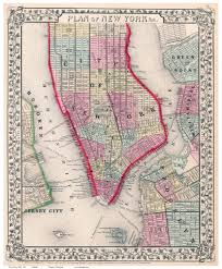 Map Of Manhattan New York City by Old Maps Of Manhattan New York City Page 4