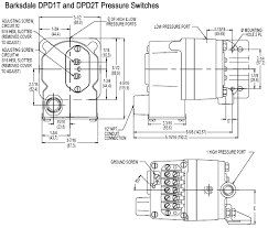 barksdale dpd1t housed diaph differential pressure switch dpd1t a80ss