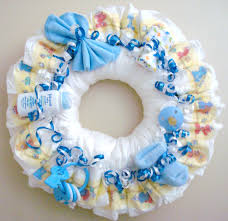 boy diaper wreath by meshell609 on etsy baby shower pinterest