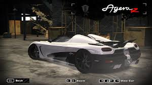 koenigsegg agera r need for speed rivals nfsmw gameplay mod koenigsegg agera r by pixelzx aka pixelzart004